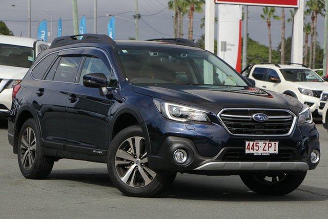 Demo Subaru Outback B6A MY20 2.5i CVT AWD Premium, 2019 Subaru Outback B6A MY20 2.5i CVT AWD Premium Dark Blue 7 Speed Wagon