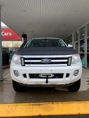 2015 Ford Ranger PX MkII XLT White 6 Speed Sports Automatic Dual Cab Utility