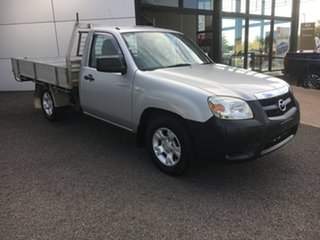 2010 Mazda BT-50 UNY0W4 DX 4x2 Silver 5 Speed Manual Cab Chassis.