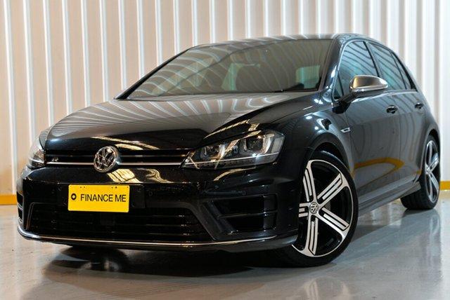 Used Volkswagen Golf VII MY15 R 4MOTION, 2015 Volkswagen Golf VII MY15 R 4MOTION Black 6 Speed Manual Hatchback