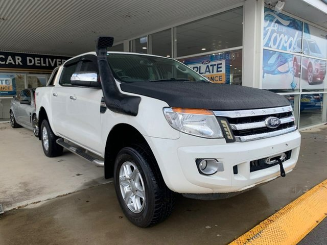 Used Ford Ranger PX MkII XLT, 2015 Ford Ranger PX MkII XLT White 6 Speed Sports Automatic Dual Cab Utility