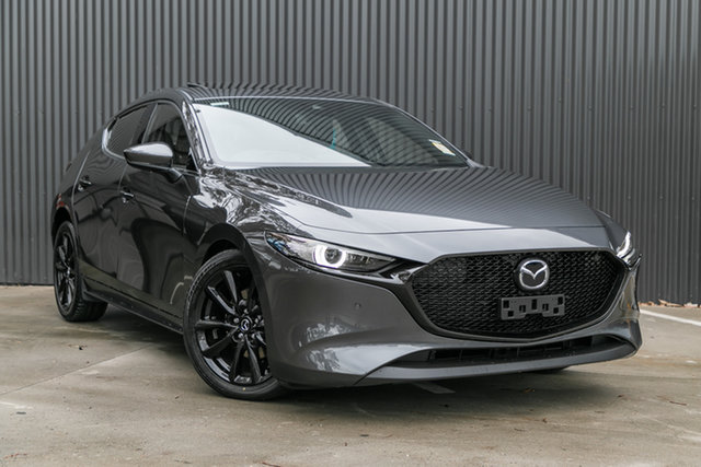New Mazda 3 BP2HLA G25 SKYACTIV-Drive Astina, 2020 Mazda 3 BP2HLA G25 SKYACTIV-Drive Astina Machine Grey 6 Speed Sports Automatic Hatchback