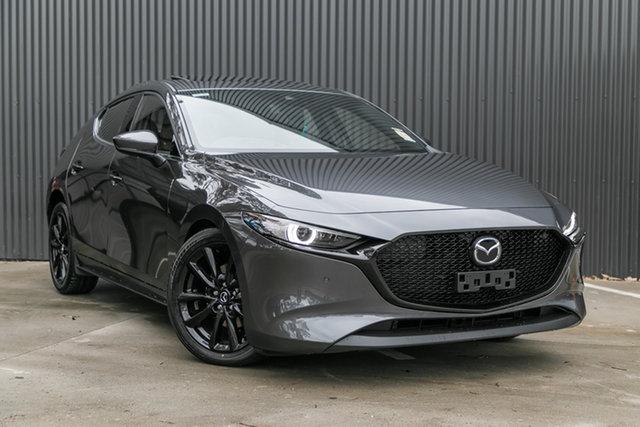 New Mazda 3 BP2HLA G25 SKYACTIV-Drive Astina, 2020 Mazda 3 BP2HLA G25 SKYACTIV-Drive Astina Machine Grey 6 Speed Sports Automatic Hatchback