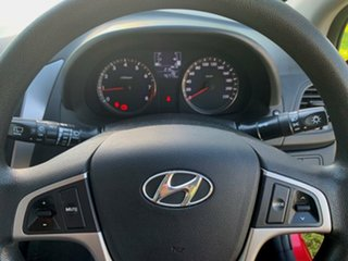 2016 Hyundai Accent RB4 MY16 Active Red 6 Speed Manual Hatchback