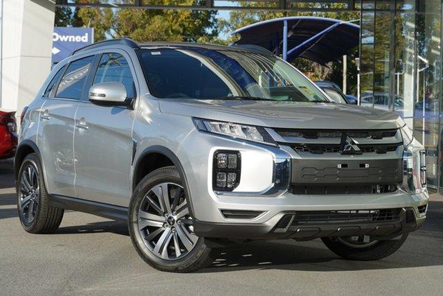 New Mitsubishi ASX XD MY20 Exceed 2WD, 2020 Mitsubishi ASX XD MY20 Exceed 2WD Sterling Silver 1 Speed Constant Variable Wagon