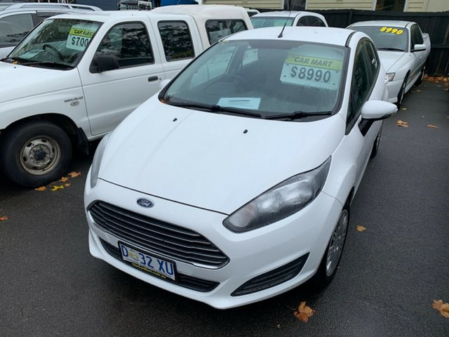 Used Ford Fiesta WZ Ambiente PwrShift, 2014 Ford Fiesta WZ Ambiente PwrShift White 6 Speed Sports Automatic Dual Clutch Hatchback