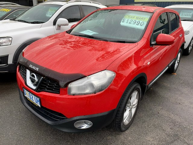 Used Nissan Dualis J10W Series 4 MY13 TS Hatch 2WD, 2013 Nissan Dualis J10W Series 4 MY13 TS Hatch 2WD Flame 6 Speed Manual Hatchback