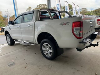 2015 Ford Ranger PX MkII XLT White 6 Speed Sports Automatic Dual Cab Utility.