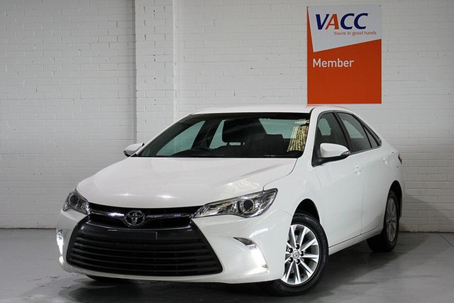 Used Toyota Camry ASV50R Altise, 2016 Toyota Camry ASV50R Altise White 6 Speed Sports Automatic Sedan