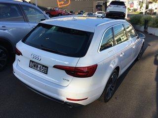 2017 Audi A4 B9 8W MY17 sport Avant S Tronic White 7 Speed Sports Automatic Dual Clutch Wagon.