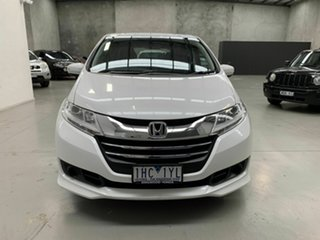 2016 Honda Odyssey RC MY16 VTi White 7 Speed Constant Variable Wagon.
