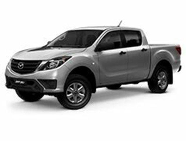 Demo Mazda BT-50 UR0YG1 XT, 2019 Mazda BT-50 UR0YG1 XT Aluminium 6 Speed Sports Automatic Utility