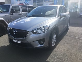 2014 Mazda CX-5 KE1031 MY14 Maxx SKYACTIV-Drive AWD Sport Silver 6 Speed Sports Automatic Wagon.