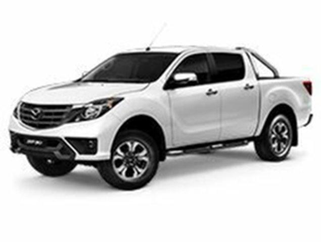 Demo Mazda BT-50 UR0YG1 GT, 2019 Mazda BT-50 UR0YG1 GT Cool White 6 Speed Sports Automatic Utility