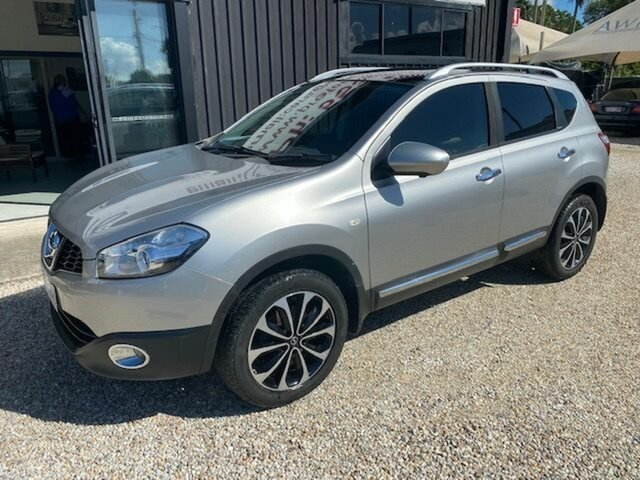Used Nissan Dualis J10 Series 3 ST (4x2), 2013 Nissan Dualis J10 Series 3 ST (4x2) Silver 6 Speed CVT Auto Sequential Wagon