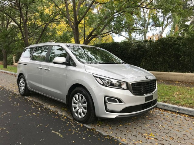 Used Kia Carnival YP MY18 S, 2018 Kia Carnival YP MY18 S Silky Silver 6 Speed Sports Automatic Wagon