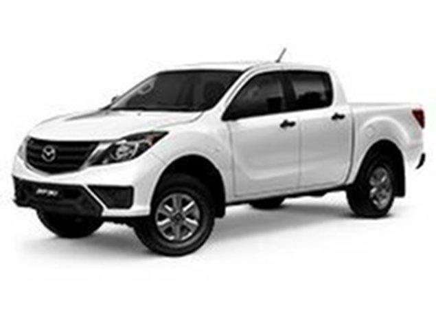 Demo Mazda BT-50 UR0YG1 XT 4x2 Hi-Rider, 2019 Mazda BT-50 UR0YG1 XT 4x2 Hi-Rider Cool White 6 Speed Sports Automatic Utility