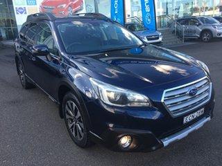 2016 Subaru Outback B6A MY17 2.0D CVT AWD Premium Blue 7 Speed Constant Variable Wagon.