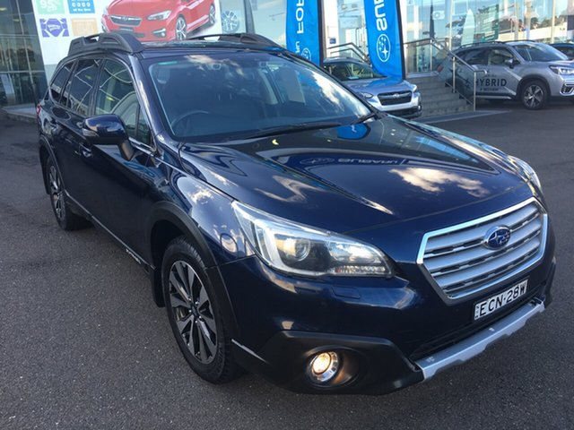 Used Subaru Outback B6A MY17 2.0D CVT AWD Premium, 2016 Subaru Outback B6A MY17 2.0D CVT AWD Premium Blue 7 Speed Constant Variable Wagon