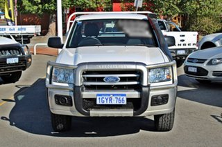 2008 Ford Ranger PJ XL Super Cab White 5 Speed Manual Cab Chassis.