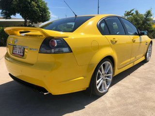 2011 Holden Commodore VE II MY12 SV6 Yellow 6 Speed Sports Automatic Sedan.