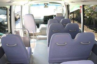 2013 Toyota Coaster Deluxe White Automatic Midi Coach