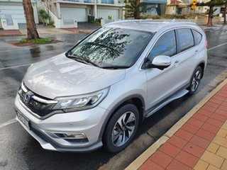2015 Honda CR-V RM Series II MY17 Limited Edition 4WD Silver 5 Speed Sports Automatic Wagon.