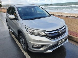 2015 Honda CR-V RM Series II MY17 Limited Edition 4WD Silver 5 Speed Sports Automatic Wagon