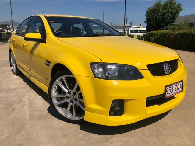 Used Holden Commodore VE II MY12 SV6, 2011 Holden Commodore VE II MY12 SV6 Yellow 6 Speed Sports Automatic Sedan