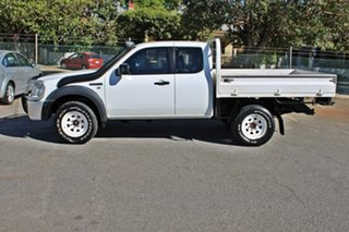 2008 Ford Ranger PJ XL Super Cab White 5 Speed Manual Cab Chassis
