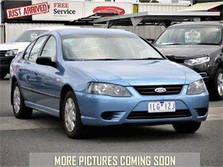 2007 Ford Falcon BF Mk II XT Blue Sports Automatic Sedan.