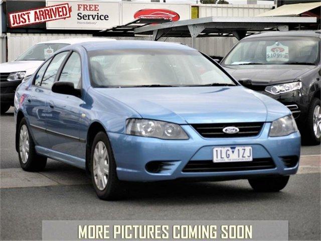 Used Ford Falcon BF Mk II XT, 2007 Ford Falcon BF Mk II XT Blue Sports Automatic Sedan