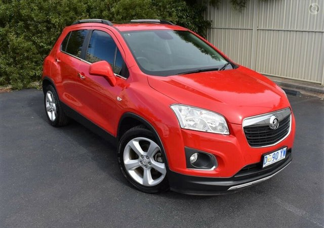 Used Holden Trax TJ MY15 LTZ, 2014 Holden Trax TJ MY15 LTZ Blaze Red 6 Speed Automatic Wagon