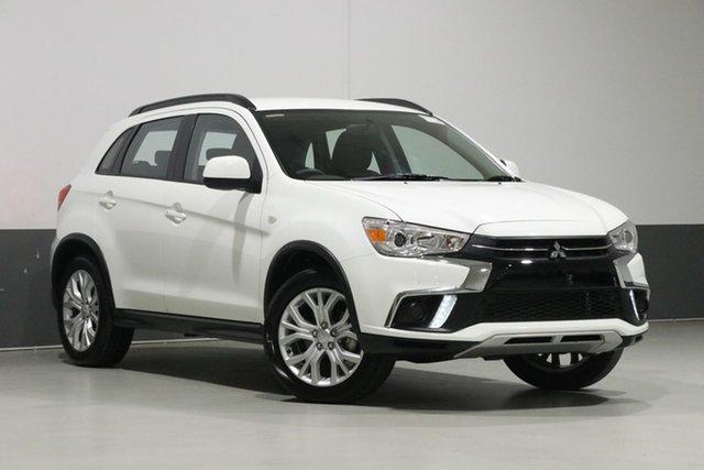 Demo Mitsubishi ASX XC MY19 ES (2WD), 2019 Mitsubishi ASX XC MY19 ES (2WD) White Continuous Variable Wagon
