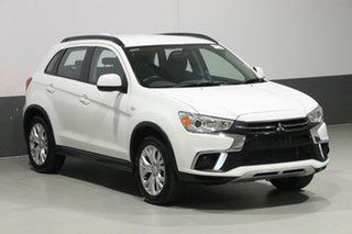 2019 Mitsubishi ASX XC MY19 ES (2WD) White Continuous Variable Wagon
