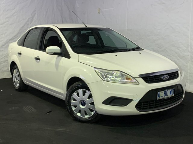 Used Ford Focus LT CL, 2009 Ford Focus LT CL White 4 Speed Sports Automatic Sedan