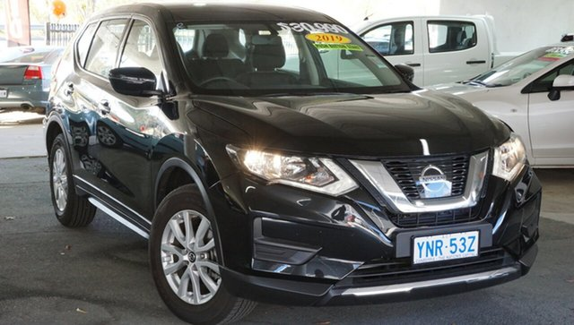 Used Nissan X-Trail T32 Series II ST X-tronic 4WD, 2019 Nissan X-Trail T32 Series II ST X-tronic 4WD Diamond Black 7 Speed Constant Variable Wagon