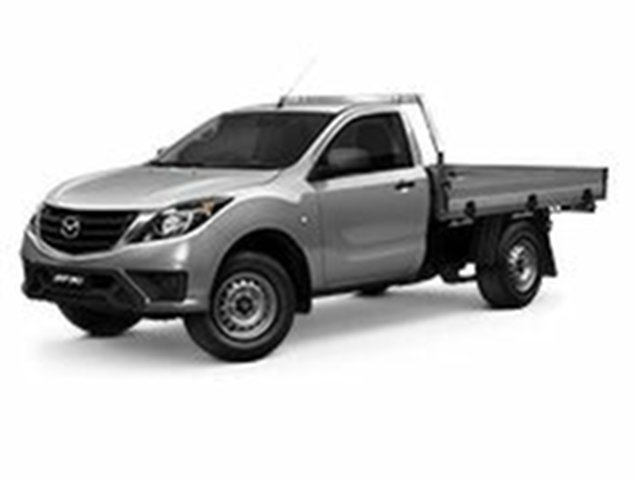 Demo Mazda BT-50 UR0YG1 XT, 2019 Mazda BT-50 UR0YG1 XT Aluminium 6 Speed Sports Automatic Cab Chassis