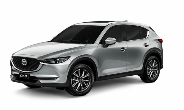 Demo Mazda CX-5 KF4WLA GT SKYACTIV-Drive i-ACTIV AWD, 2019 Mazda CX-5 KF4WLA GT SKYACTIV-Drive i-ACTIV AWD Sonic Silver 6 Speed Sports Automatic Wagon