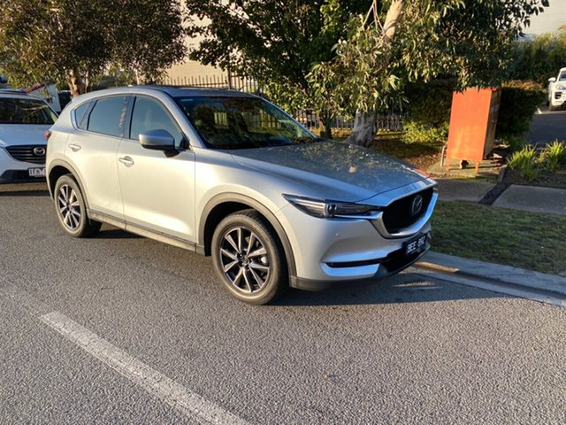 Demo Mazda CX-5 KF4WLA GT SKYACTIV-Drive i-ACTIV AWD, 2019 Mazda CX-5 CX-5 GT SKYACTIV-Drive i-ACTIV AWD Sonic Silver 6 Speed Sports Automatic Wagon
