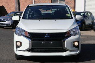 2021 Mitsubishi Mirage LB MY21 ES White 5 Speed Manual Hatchback