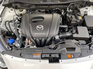 2020 Mazda 2 DJ2HAA G15 SKYACTIV-Drive Pure Snowflake White Pearl 6 Speed Sports Automatic Hatchback