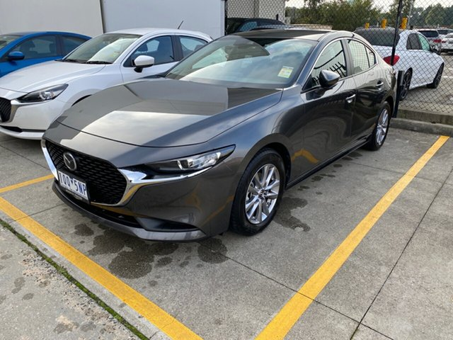Demo Mazda 3 BP2S7A G20 SKYACTIV-Drive Pure, 2019 Mazda 3 Mazda3 G20 SKYACTIV-Drive Pure Machine Grey 6 Speed Sports Automatic Sedan
