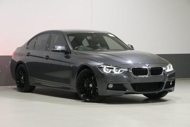 Used BMW 330i F30 LCI M Sport, 2018 BMW 330i F30 LCI M Sport Mineral Grey 8 Speed Automatic Sedan