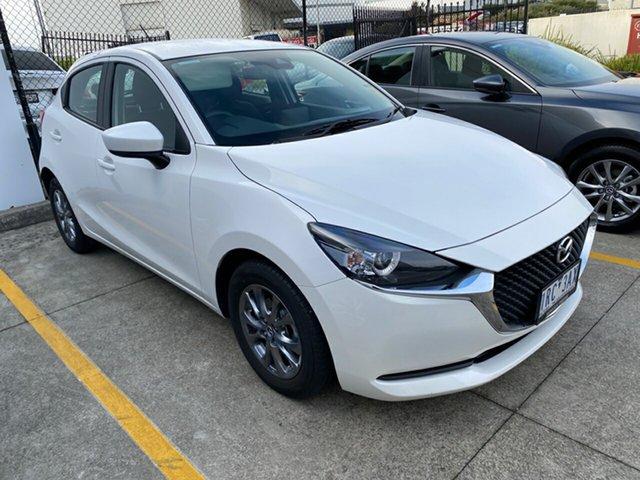 Demo Mazda 2 DJ2HAA G15 SKYACTIV-Drive Pure, 2020 Mazda 2 DJ2HAA G15 SKYACTIV-Drive Pure Snowflake White Pearl 6 Speed Sports Automatic Hatchback