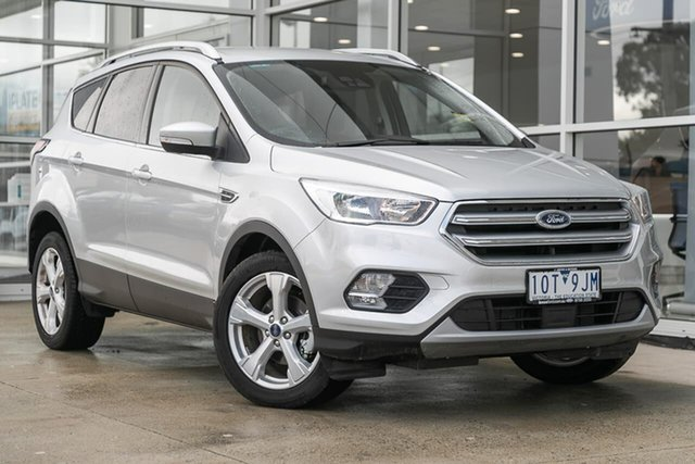Used Ford Escape ZG 2019.25MY Trend 2WD, 2019 Ford Escape ZG 2019.25MY Trend 2WD Silver 6 Speed Sports Automatic Wagon