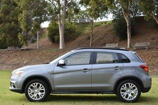 2018 Mitsubishi ASX XC MY19 LS 2WD Grey 6 Speed Constant Variable Wagon