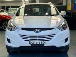 2014 Hyundai ix35 LM3 Active White Sports Automatic Wagon.