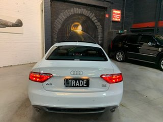 2009 Audi A5 8T MY10 Quattro White 6 Speed Sports Automatic Coupe