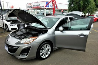 2010 Mazda 3 BL10L1 MY10 SP25 Silver 6 Speed Manual Sedan